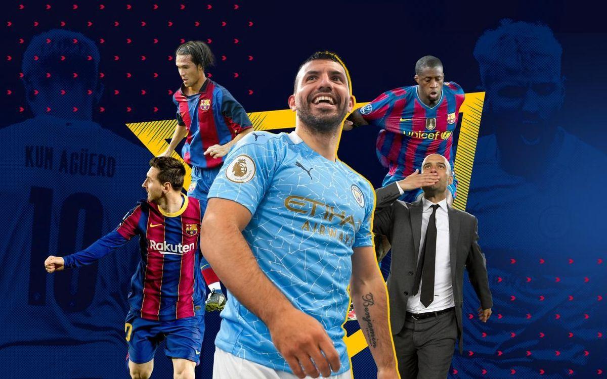 Sergio Agüero's FC Barcelona links