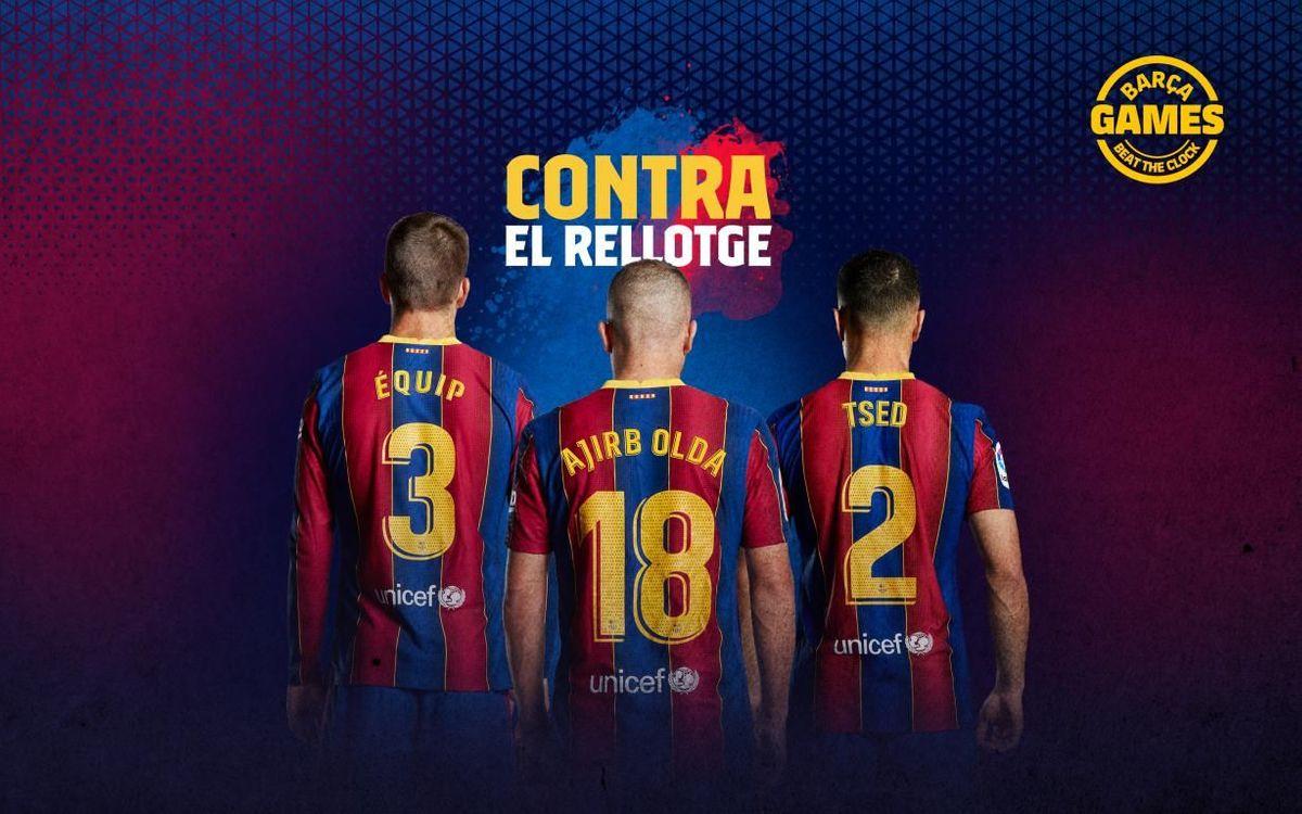 Descobreix el nom ocult dels jugadors del FC Barcelona