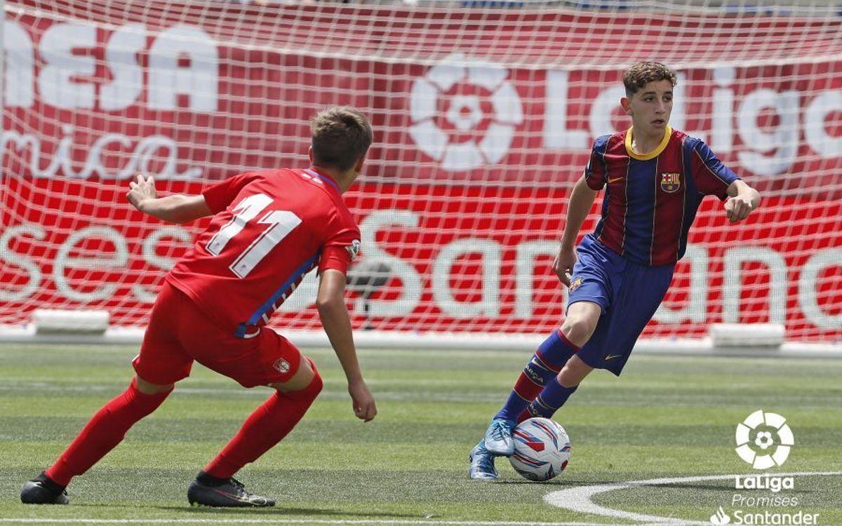 Barça, third in LaLigaPromises