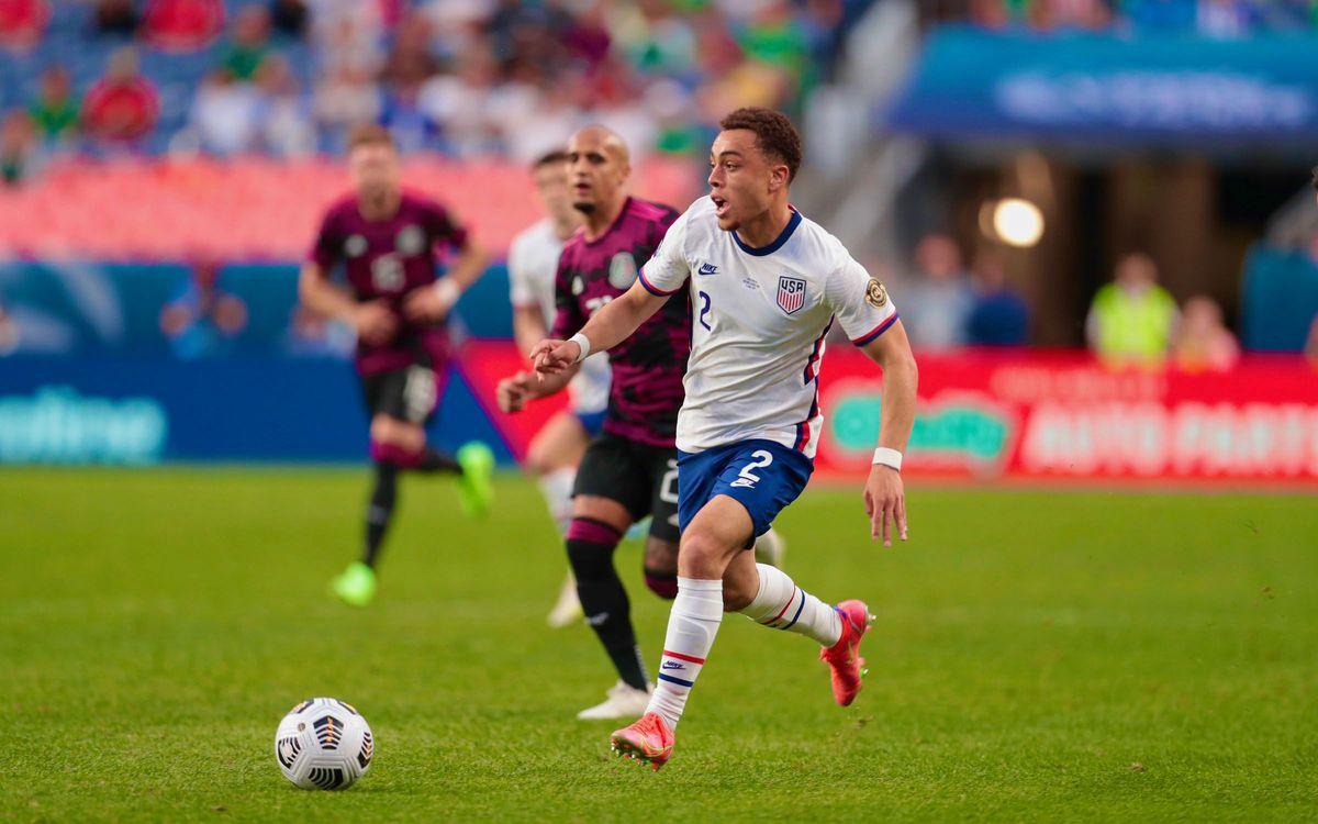 Sergiño Dest, vainqueur de la Ligue des Nations Concacaf