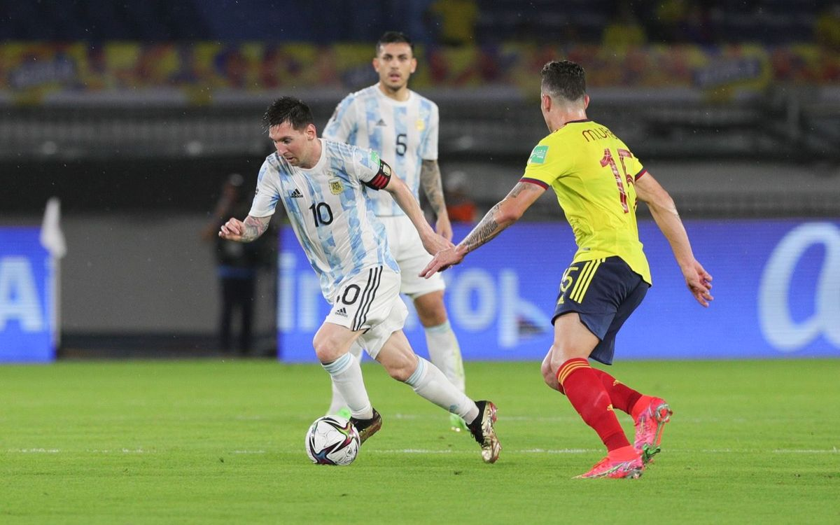 Messi's Argentina draw in Colombia