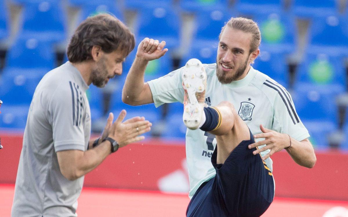 Mingueza, citado por la selección española