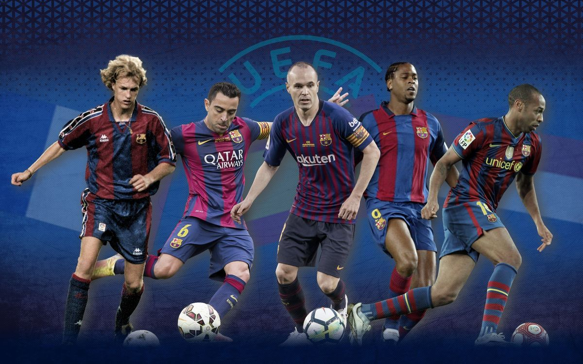 FC Barcelona at the European Championships