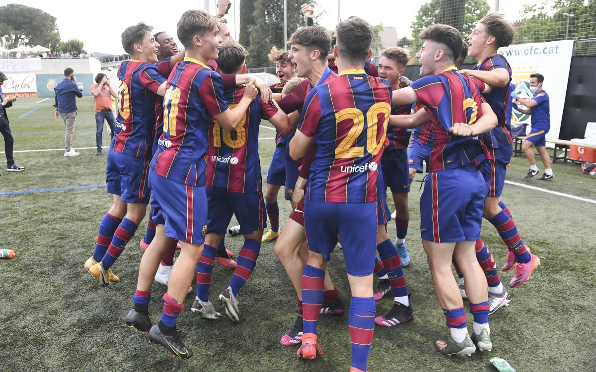 Cerdanyola del Vallès-Juvenil A: El Juvenil A és campió de Lliga! (1-3)