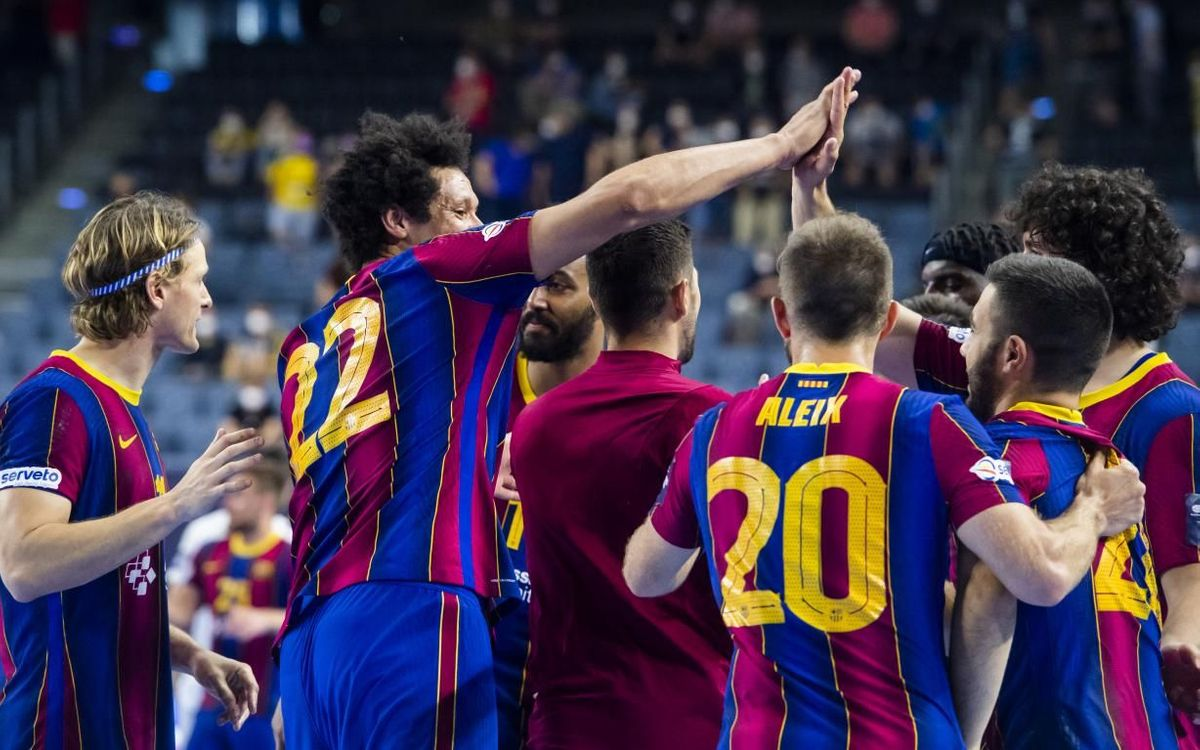 Barça 31-26 Nantes: European finalists!
