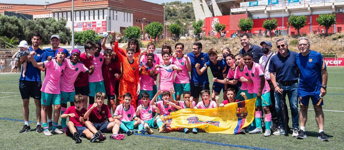 Nàstic B - Infantil B: Campions de Lliga! (0-5)