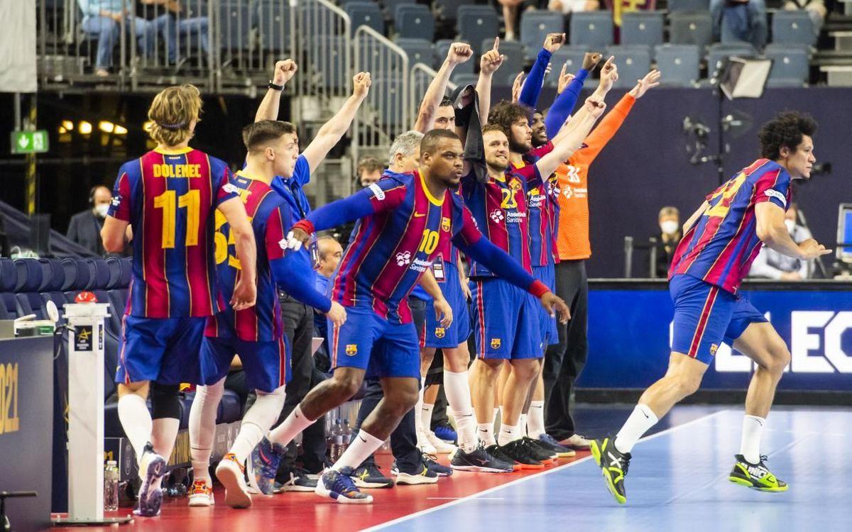 Barça 36–23 Aalborg: European champions!