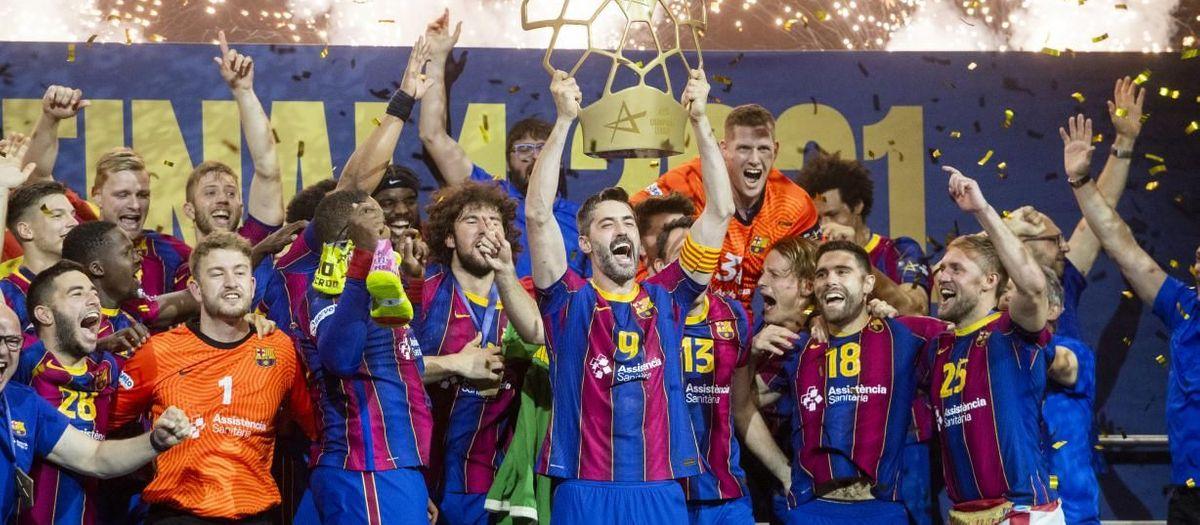 Barça - Aalborg : Champions d'Europe ! (36-23)
