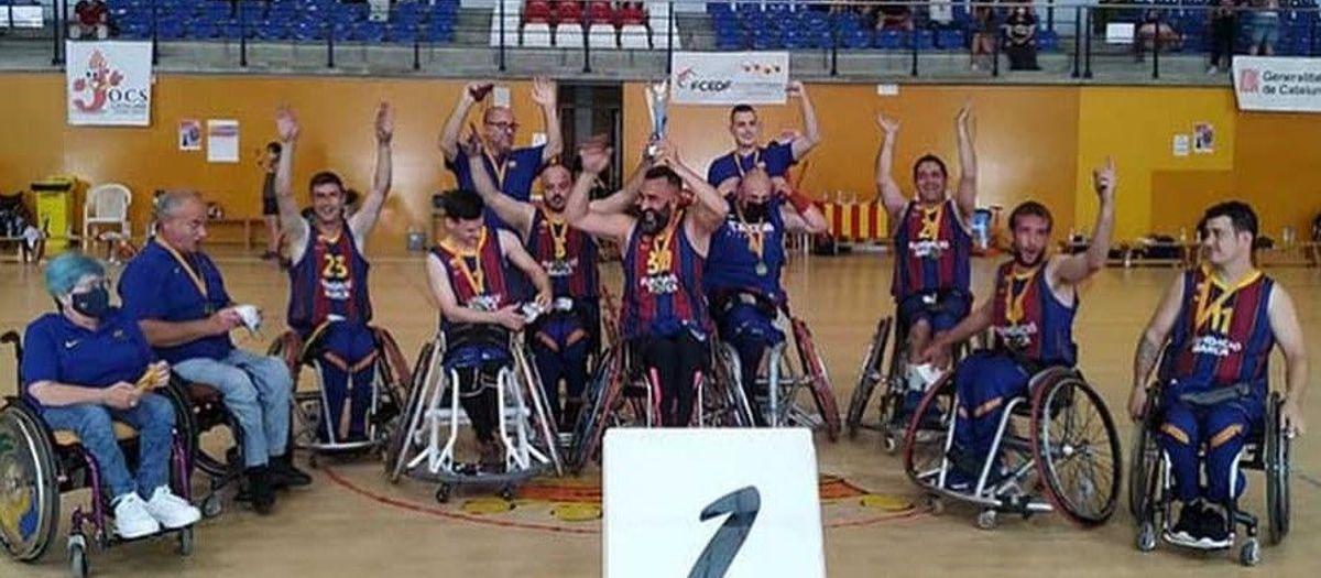 El UNES Barça gana la Copa Catalunya