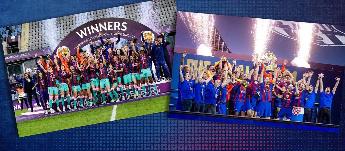 Two European titles