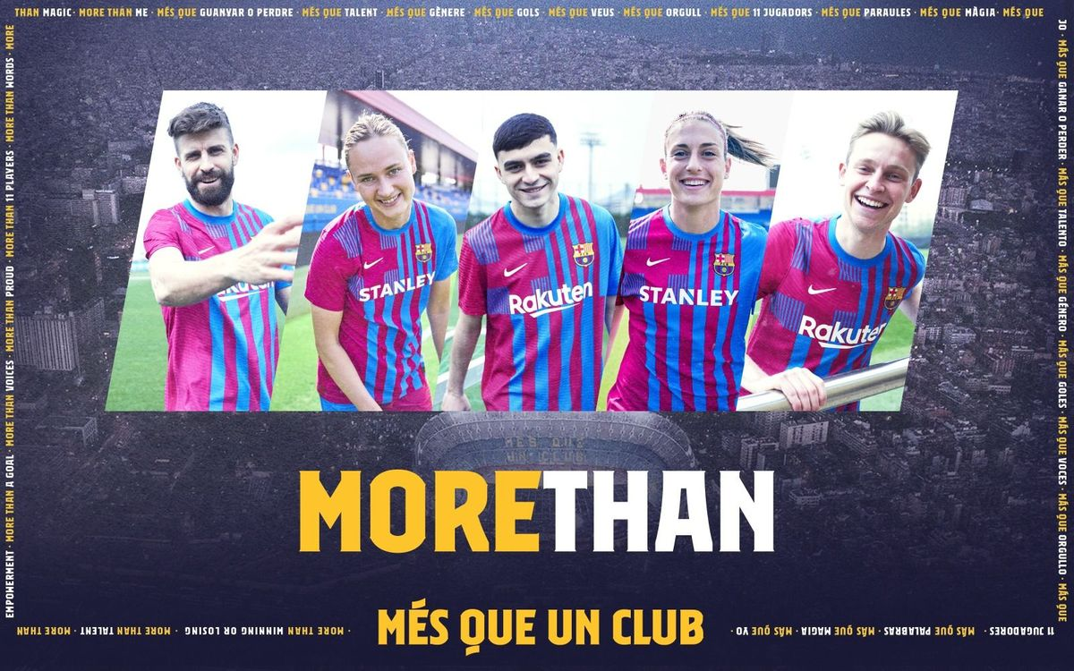 New Barça shirt inspired by the club crest