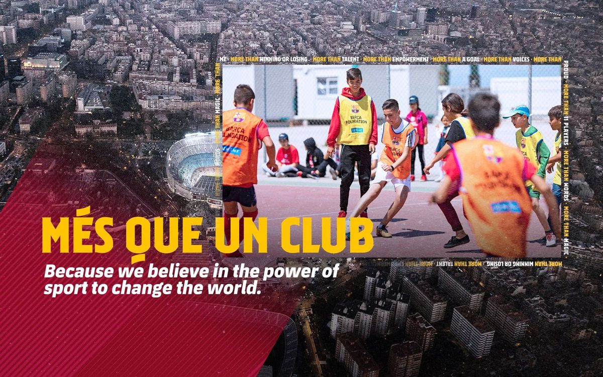 Barça launches new 'MORE THAN' campaign