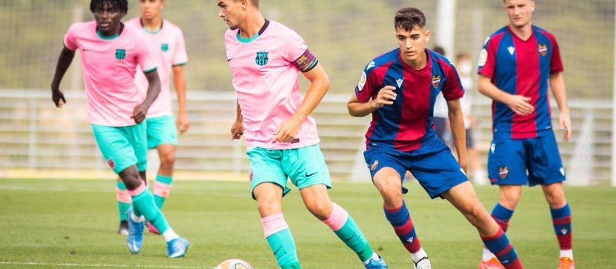 Levante 1-1 Barça U19A: Everything to be decided