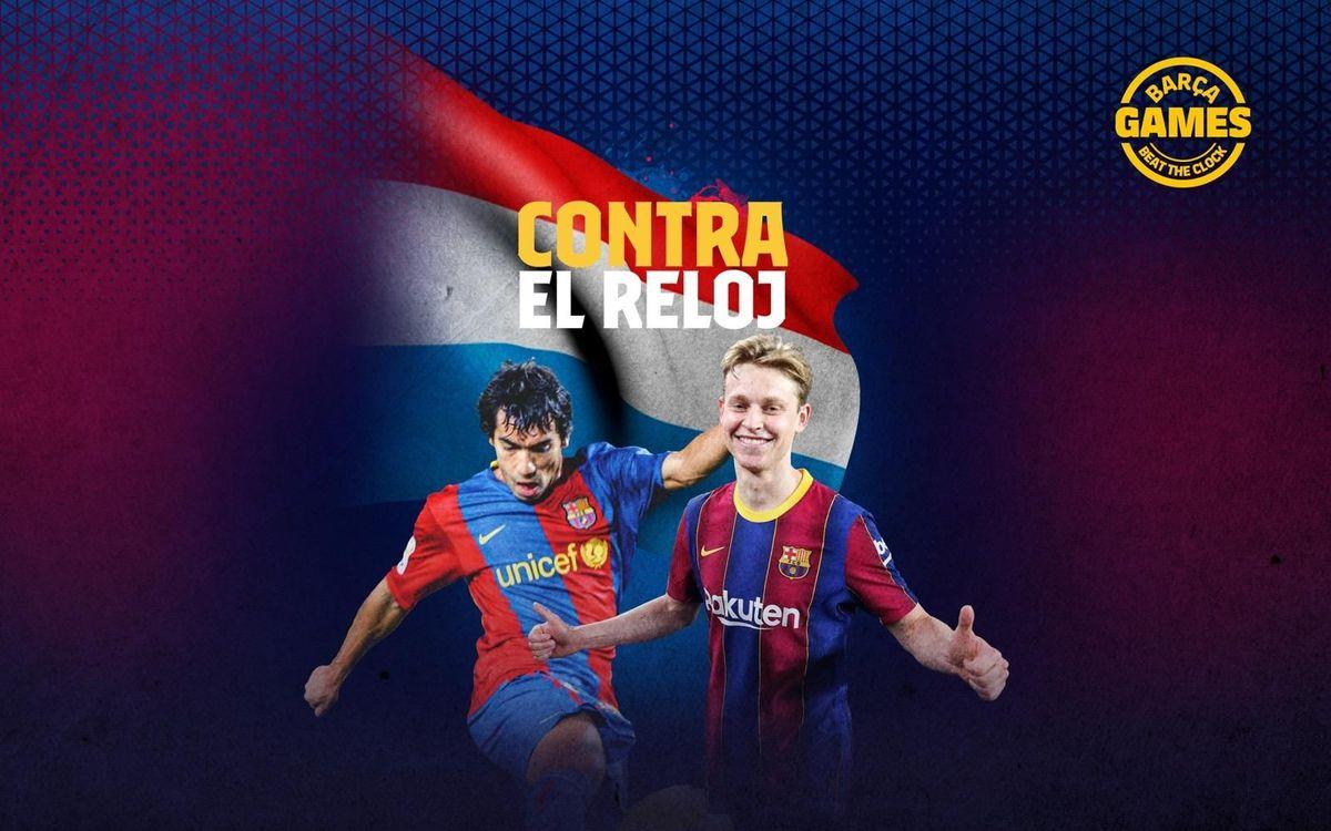 CONTRA EL RELOJ | Nombra los holandeses que han estado en el Barça en el s. XXI