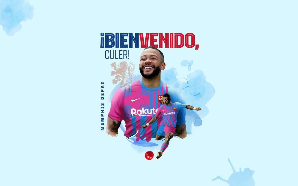 Memphis Depay, cuarto fichaje del FC Barcelona