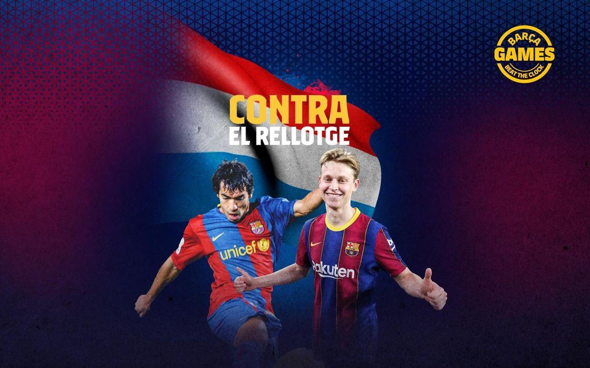 CONTRA EL RELLOTGE | Anomena els holandesos que han estat al Barça al s. XXI