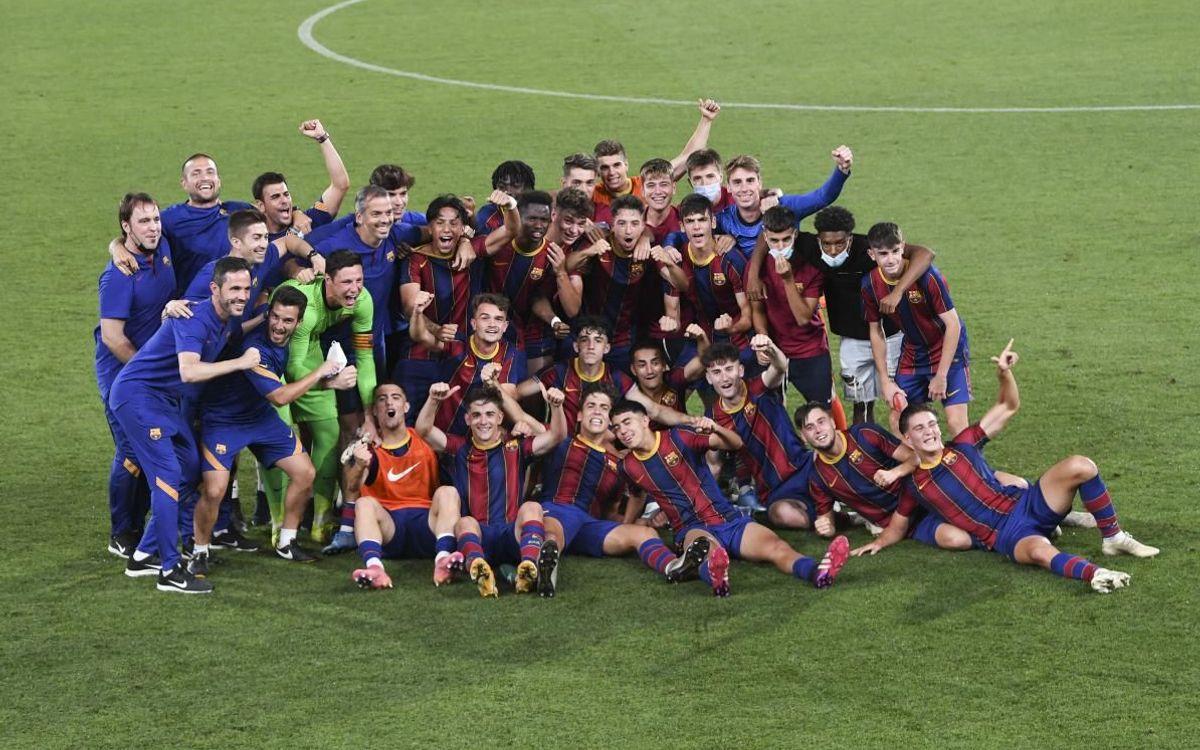 Juvenil A - Levante: ¡A semifinales de la Copa de Campeones! (2-1)