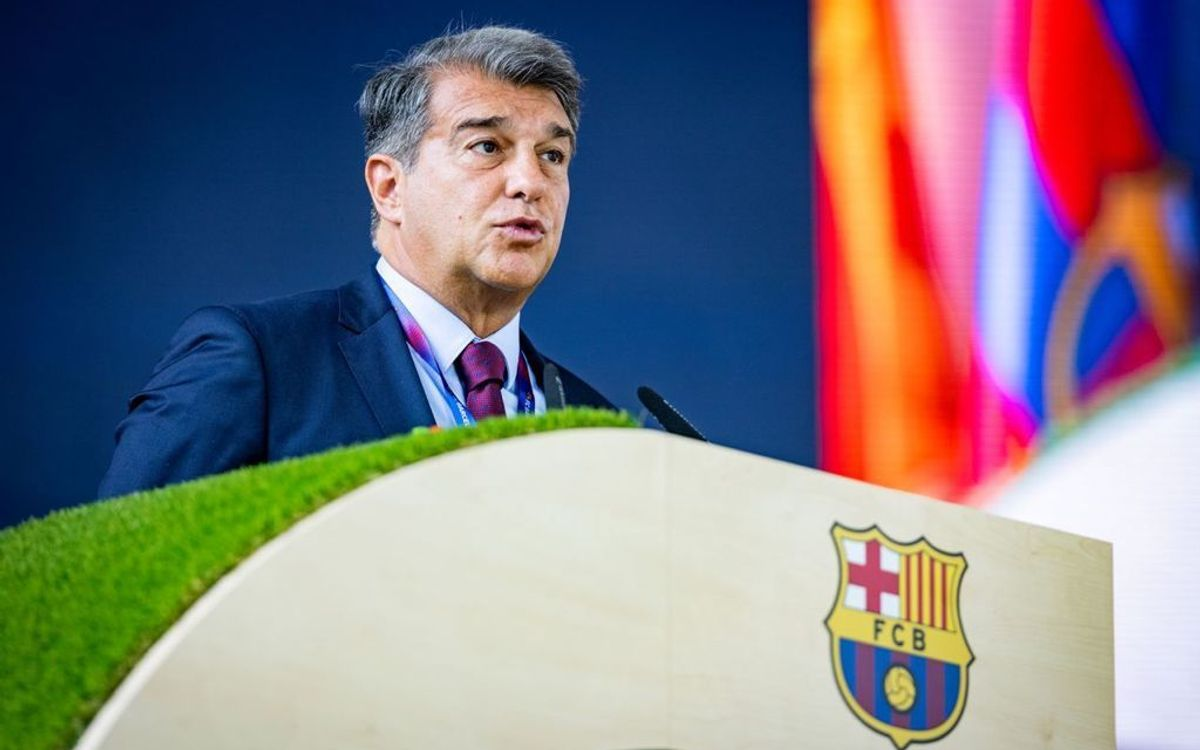 Joan Laporta promises to turn things around and put smiles back on Barça faces