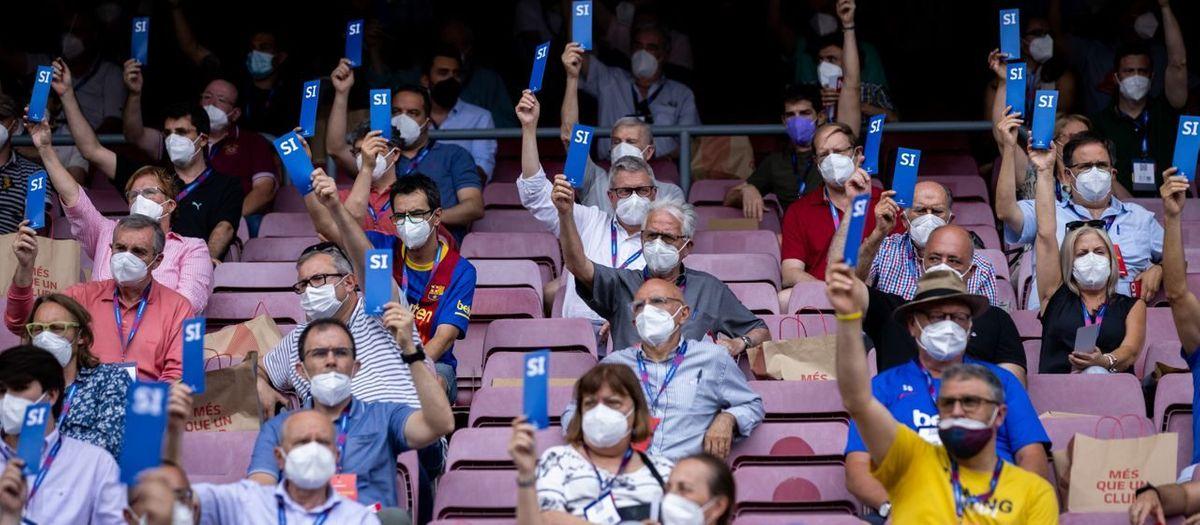 Así hemos vivido la Asamblea General de Compromisarios del FC Barcelona
