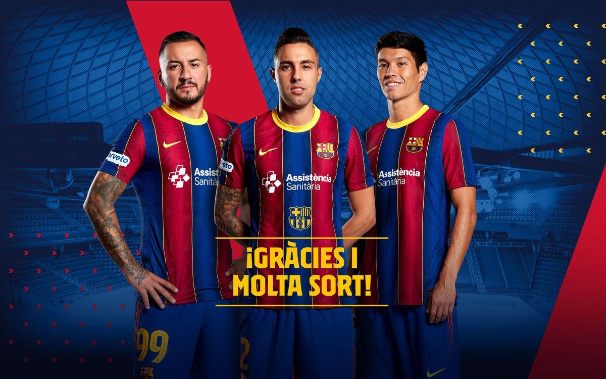 Aicardo, Daniel and Ximbinha to leave Barça