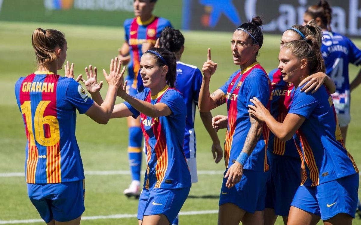 Barça – Sporting Huelva: Nova golejada blaugrana (5-0)