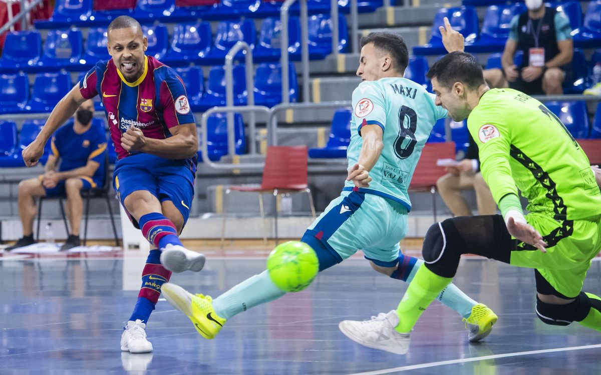 Barça 2-2 Levante: Visitors win game one on penalties