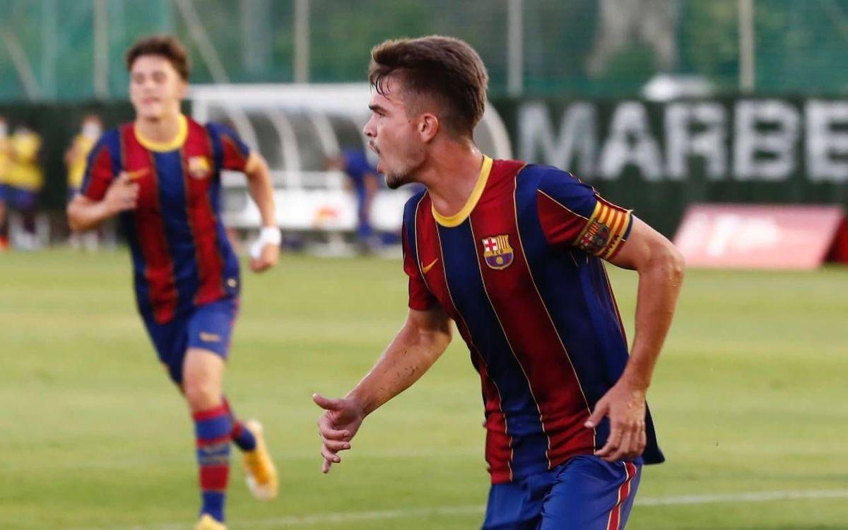 Juvenil A - Màlaga: Cap a la final de la Copa Campions! (1-0)