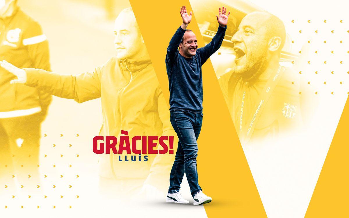 Lluís Cortés announces decision to step down as manager