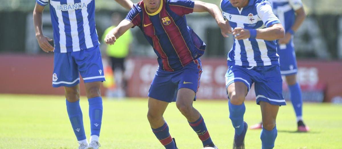 Deportivo La Coruña - Juvenil A: Se escapa el sueño (3-1)