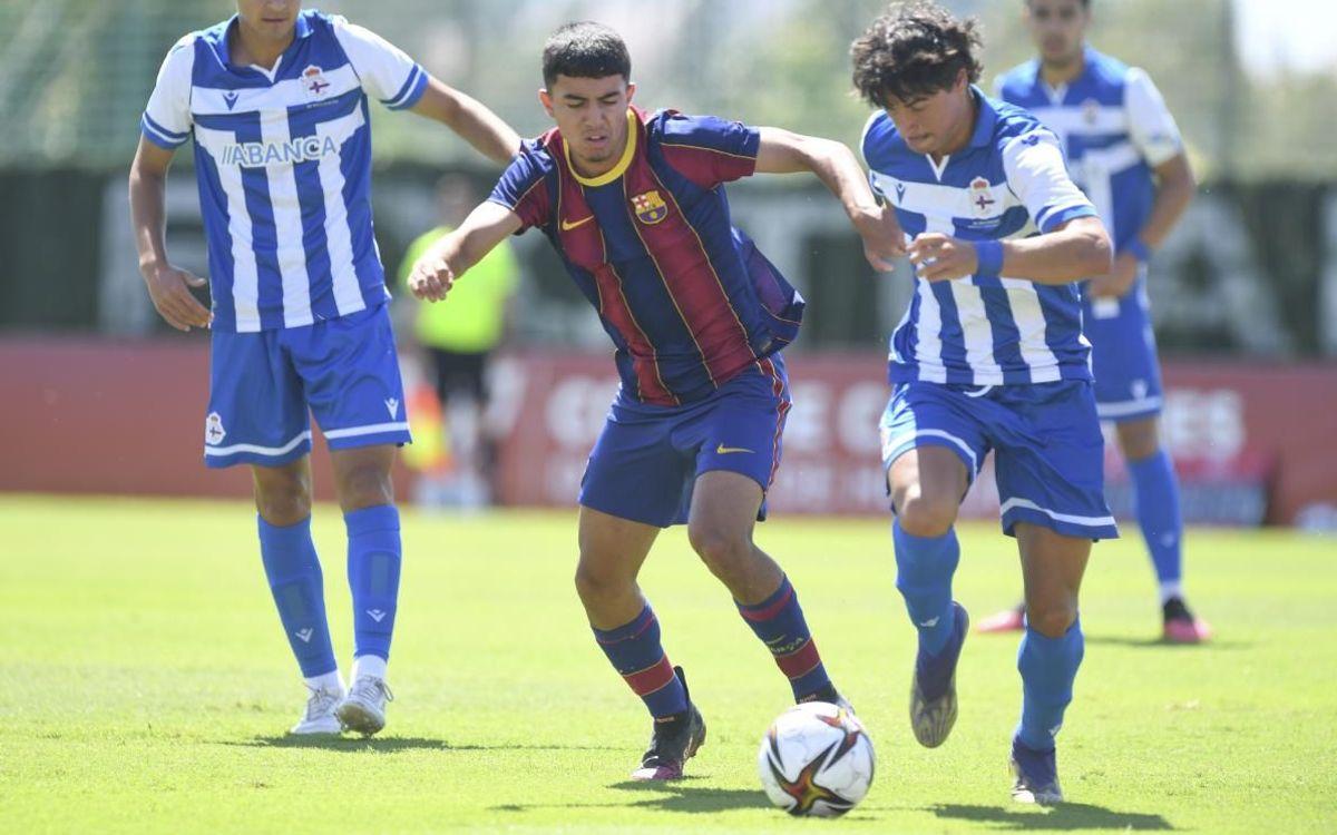 Deportivo La Corunya – Juvenil A: S'escapa el somni (3-1)