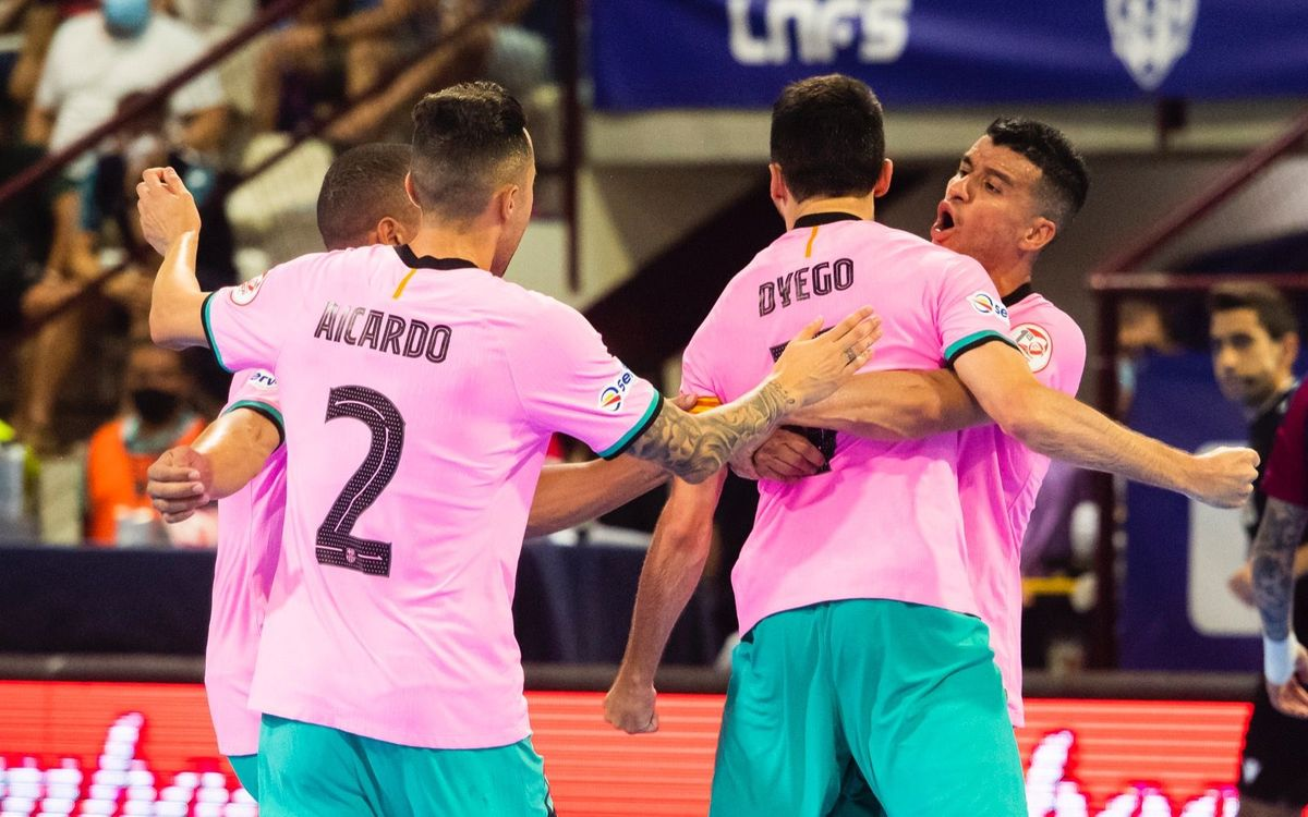 Levante 3-4 Barça: All to be decided on Wednesday