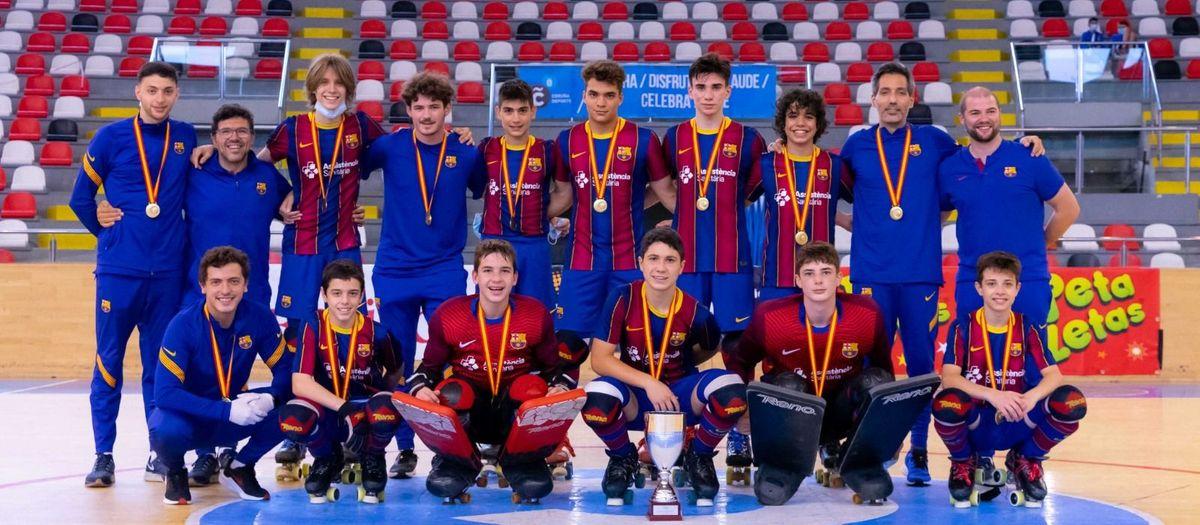 El Infantil se proclama campeón de España