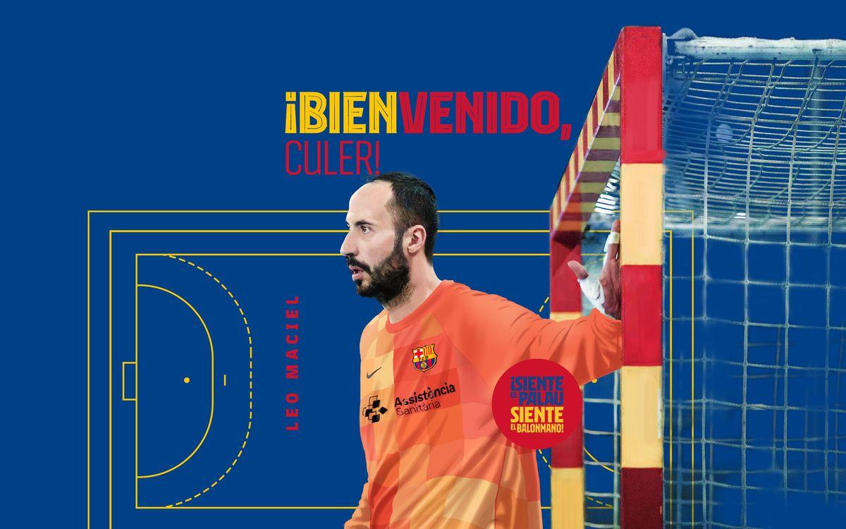 Leo Maciel, Barça goalkeeper for 2021/22