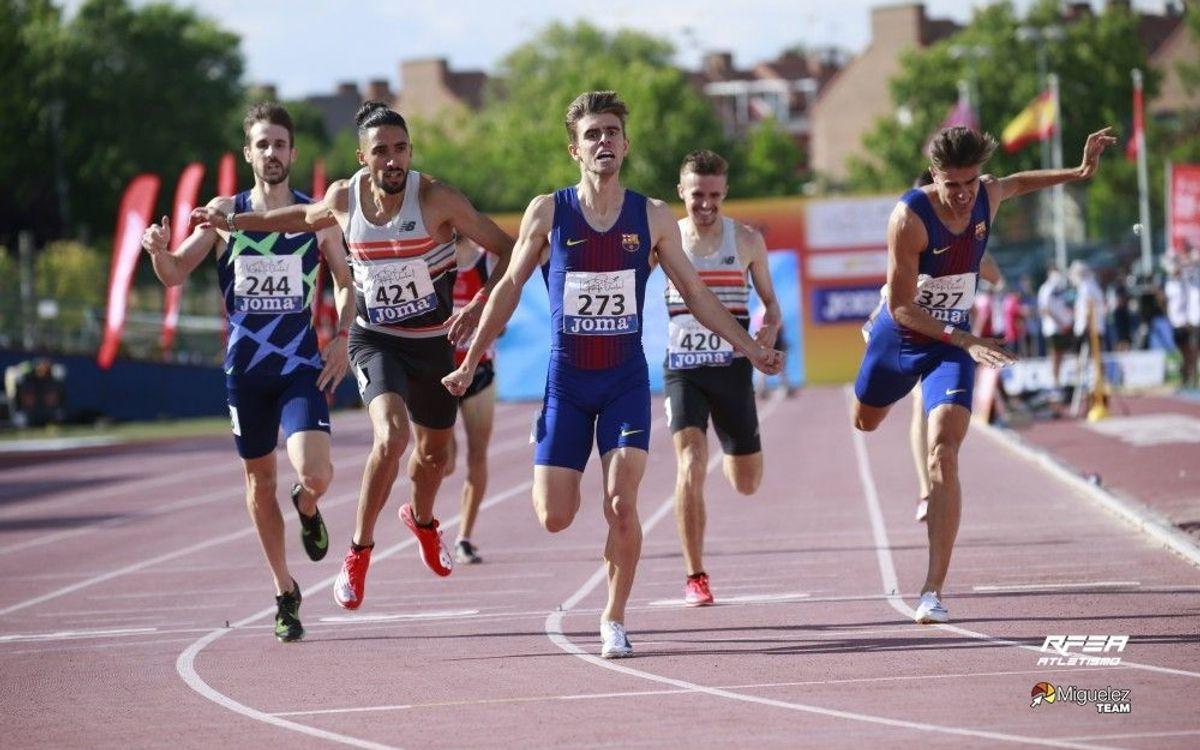 El Barça recull 22 medalles al Campionat d'Espanya d'Atletisme