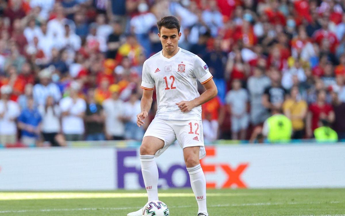 Óscar Mingueza, Eric Garcia y Pedri, convocados con la selección española para los Juegos Olímpicos de Tokio