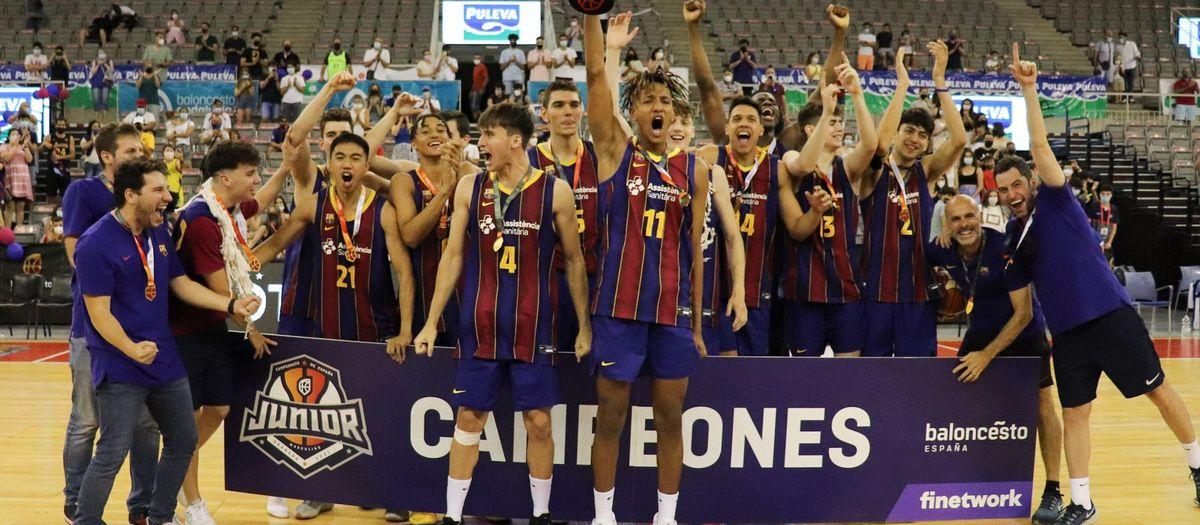 El júnior, brillant campió d'Espanya!