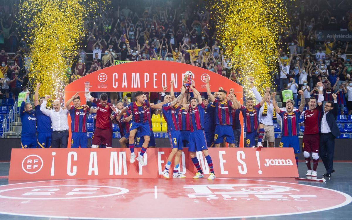 Barça 2-2 (5-4 pens) Levante: Late drama... And league champions!