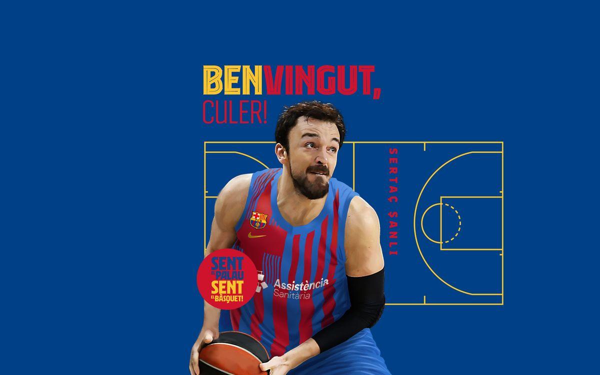 Sertac Sanli és el primer reforç del Barça 2021/22