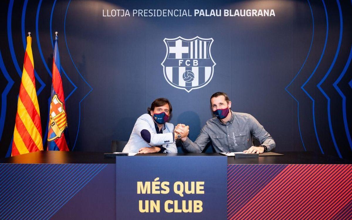 Aitor Egurrola, Sergi Panadero i João Rodrigues signen les respectives renovacions