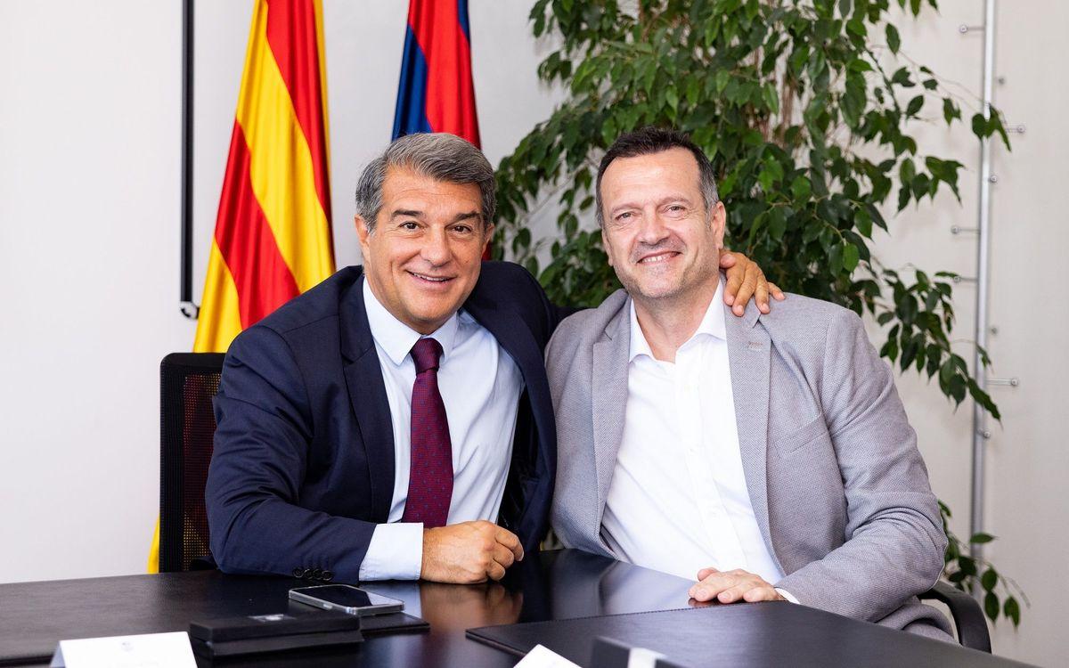 Jesús Velasco is the new FC Barcelona futsal coach