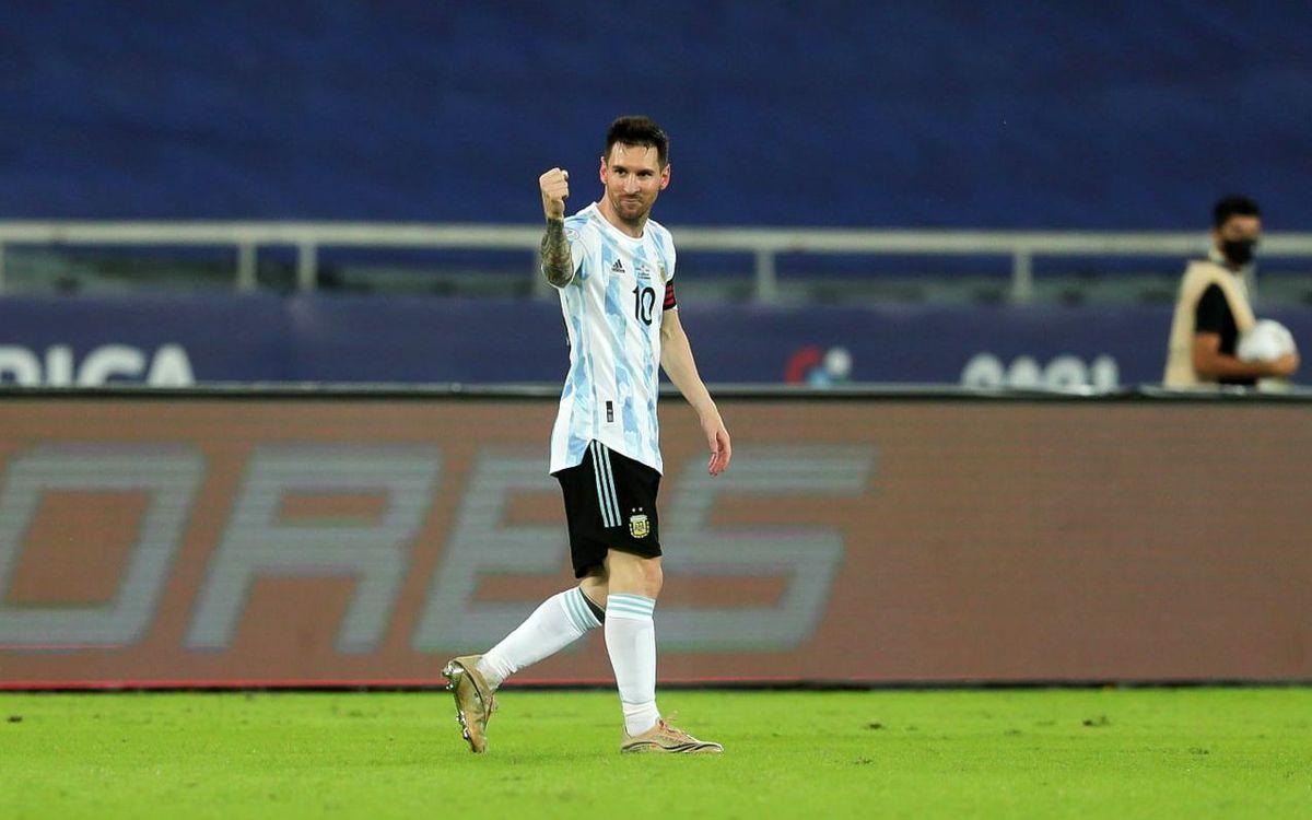 メッシ、ペレの南米記録まで1ゴール