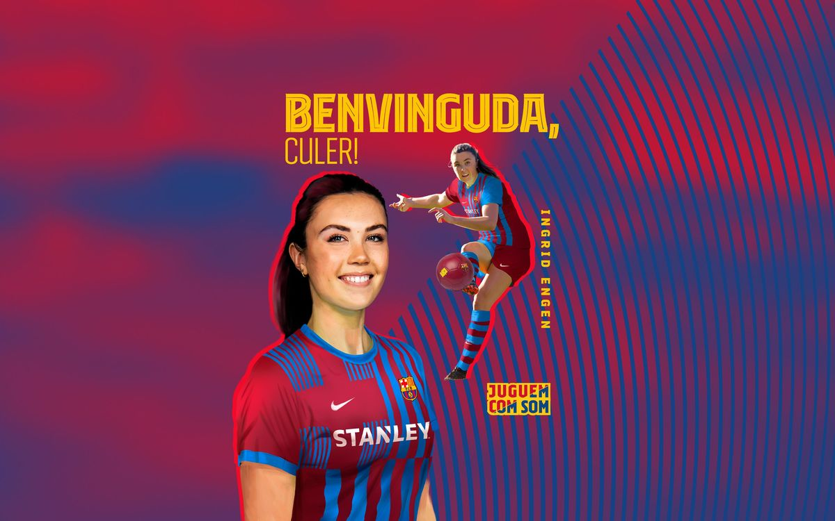 Ingrid Engen reforça el Barça Femení