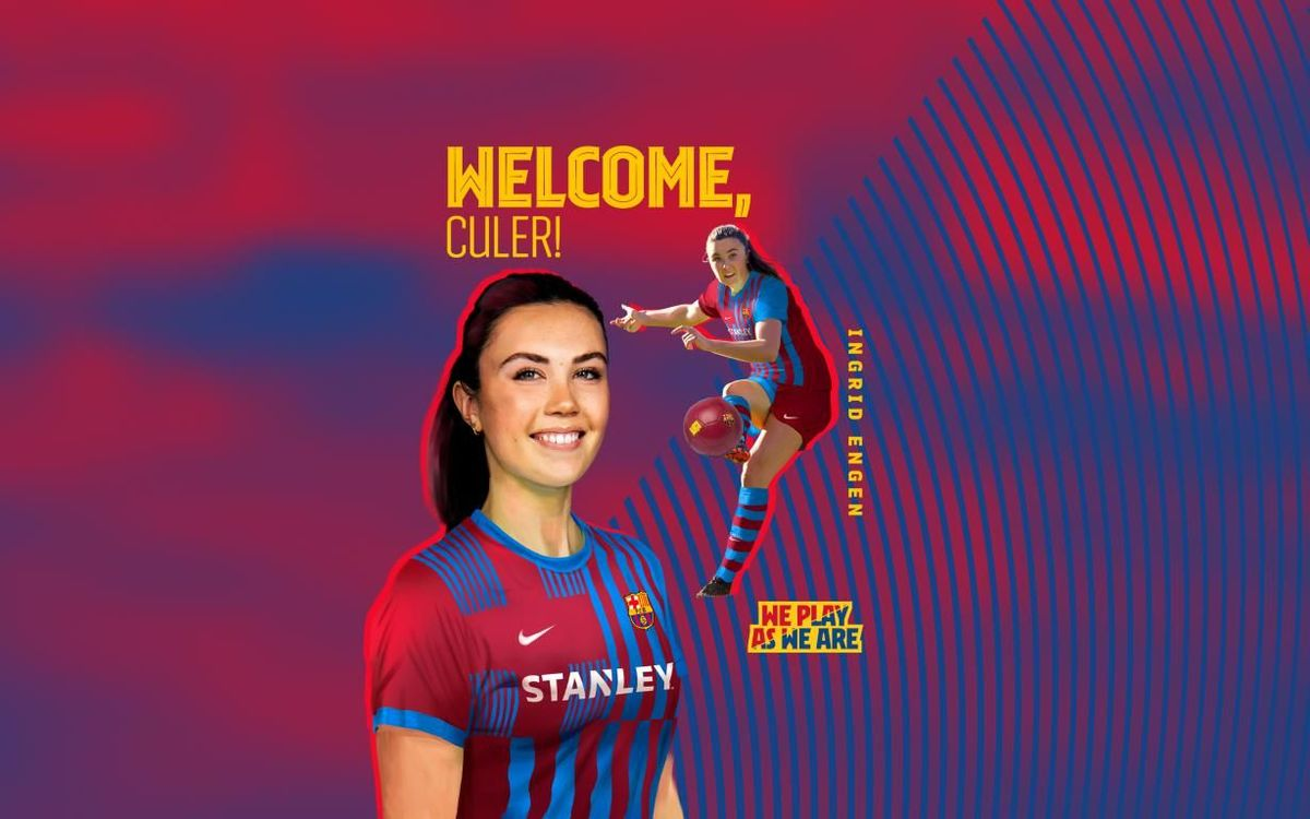 Norwegian Ingrid Engen signs for Barça