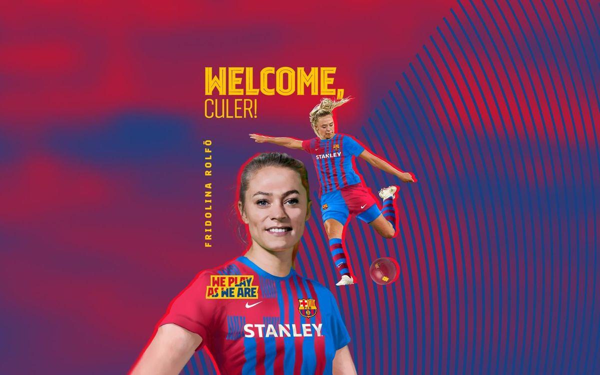 Fridolina Rolfö signs until 2023