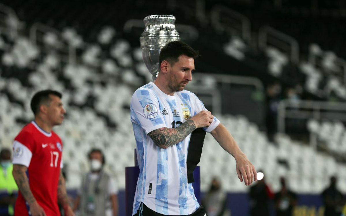 Messi targeting first Copa America