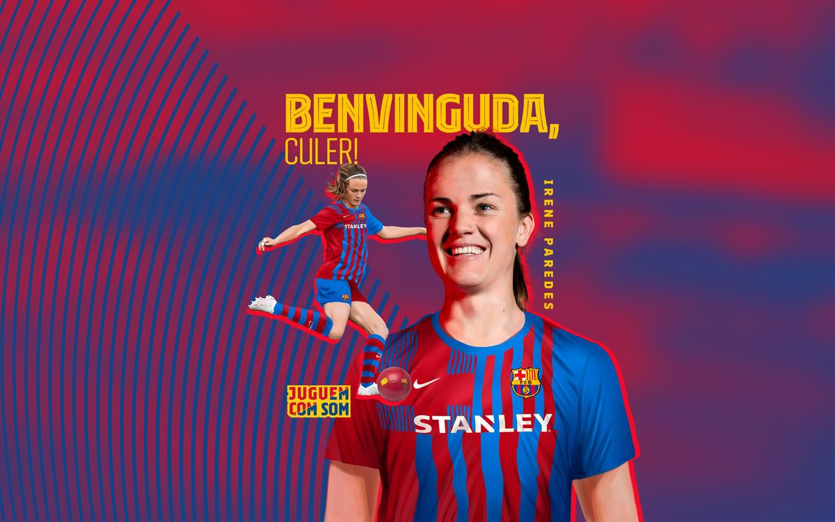 Irene Paredes fitxa pel Barça