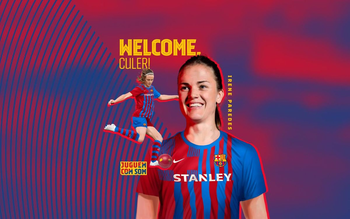 Irene Paredes signs for Barça
