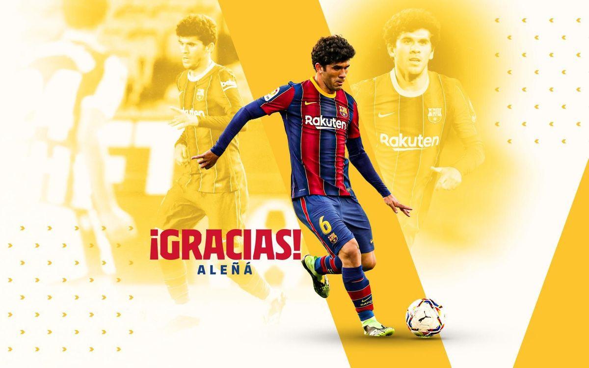Acuerdo con el Getafe CF para el traspaso de Carles Aleñá
