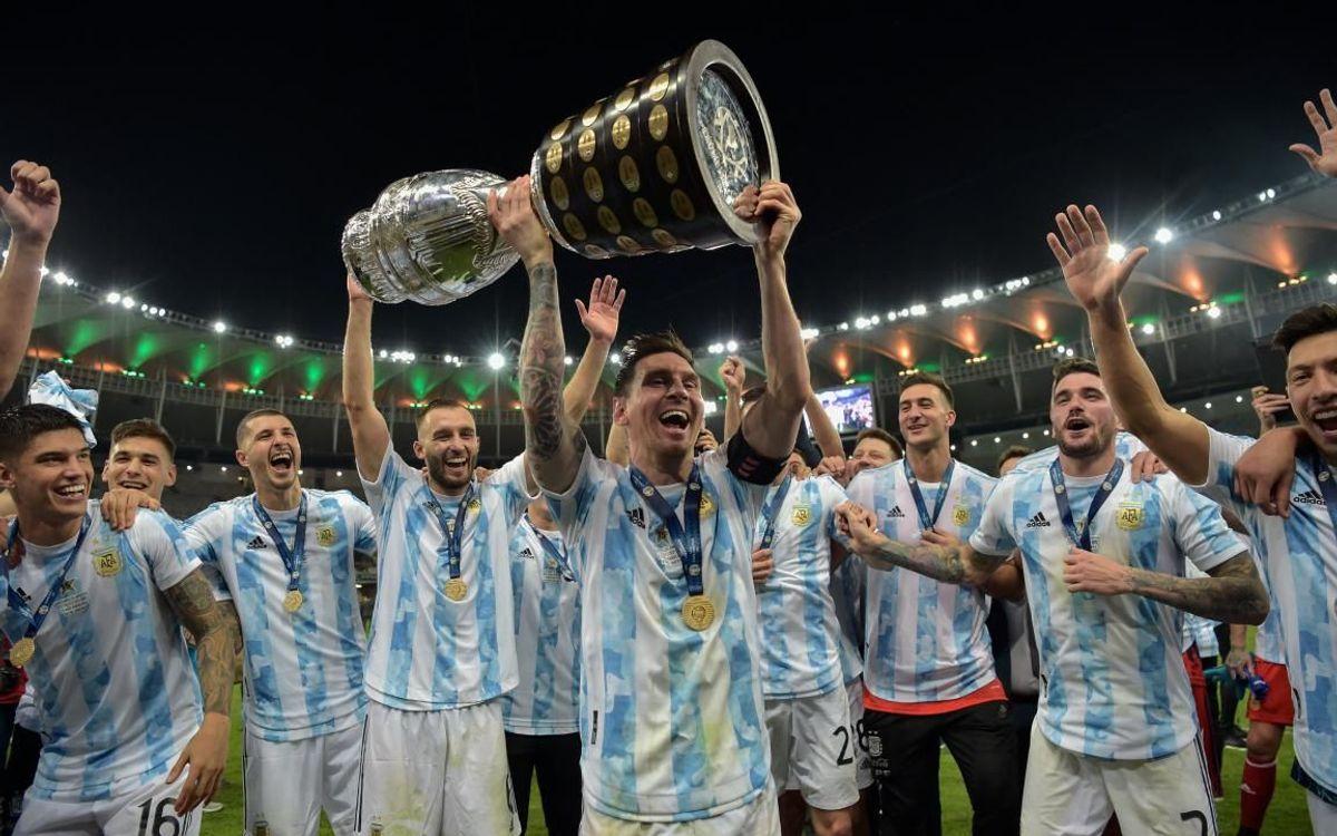 Argentina win Copa America!