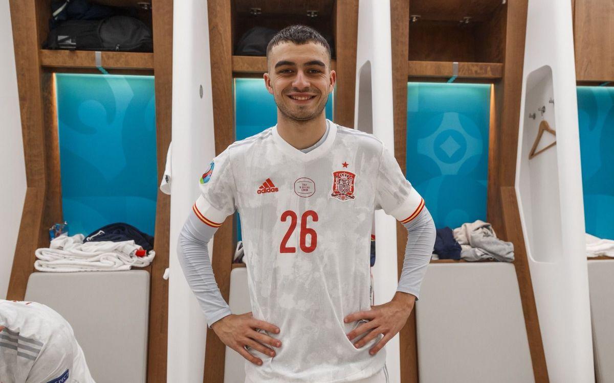 Pedri, mejor jugador joven de la Eurocopa